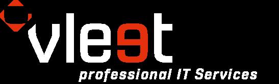 Vleet Logo weiß